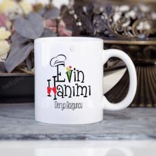 Evin Hanımı ve Evin Reisi İkili Kupa Bardak