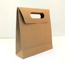 Kraft el geçmeli hediyelik zarf poşet