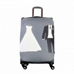 Gelin Damat Temalı My Luggage Valiz Kılıfı