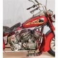 Harley Motor Kırmızı 27cm