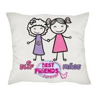 İsimli Best Friend Arkadaşlık Yastığı