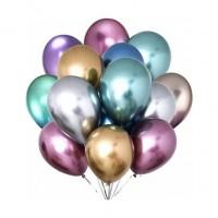 Krom Balonlar Parlak