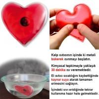 Kırmızı Kalpli El Isıtıcısı