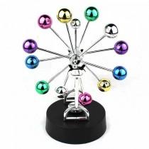 Masa üstü kinetik 360 derece dönen stres topları