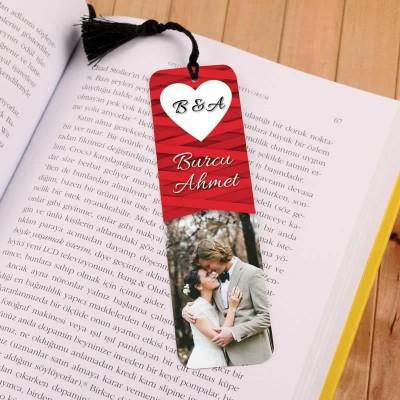 Sevgiliye Özel Hediye Kitap Ayracı