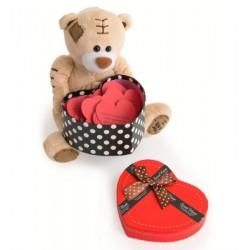 Sevimli Ayıcıktan Sürpriz Aşk Mesajları